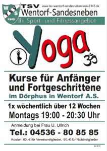Yoga Juli 2014