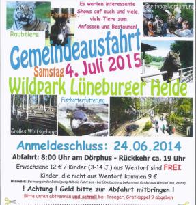 Gemeindeausfahrt 2015-07-04