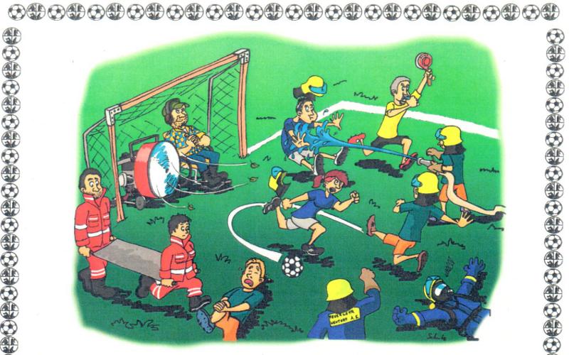 Fußball-Jux-Turnier